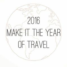 Comparateur de voyages http://www.hotels-live.com : Make it the year of travel Tag your travel buddy #wanderlust #travelquotes #yearoftravel2016 Via @rachelistraveling by travel.quotes https://www.instagram.com/p/__sFk3MSzN/ #Flickr via https://instagram.com/hotelspaschers via Hotels-live.com https://www.facebook.com/125048940862168/photos/a.1069203666446686.1073741901.125048940862168/1078304142203305/?type=3