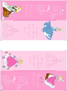 Disney printable bookmarks ((Image only. Link was messed up last time I checked. Pirate Party Invitations, Princess Birthday Invitations, Birthday Invitation Templates, Party Favors, Disney Princess Party, Cinderella Party, Disney Theme, Disney Diy, Disney Crafts