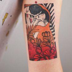 """My interpretation of Gustav Klimt's The Kiss"""