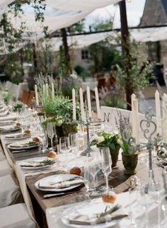 Tablescape inspired by nature