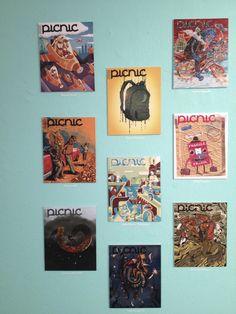 Portadas finalistas de Ilustracional 2012