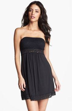 In Bloom by Jonquil Lace & Knit Chemise | Nordstrom