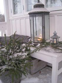 Vita drömmar & busiga barn: Snö!