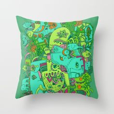 ______________ Throw Pillow by Hanna Ruusulampi | Society6