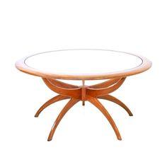 Mid Century Coffee table Italian Art Design Ceramic Tiles Pop Art Vintage Retro