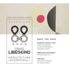 Palestra Abertura Exposição David Libeskind