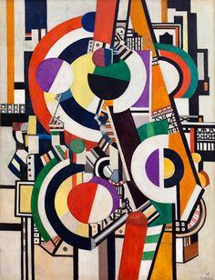 'Les disques' (1918) by Fernand Léger