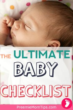 This is all you'll need for your new baby! If you're pregnant check out these essential baby items you'll need when your baby arrives! #mom #baby #momlife #pregnancy #newbornbaby #babychecklist