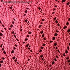 Shrubs knitting stitches