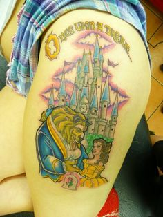 ~Beauty & The Beast tattoo