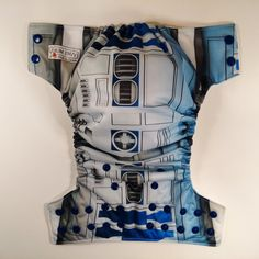 R2D2 Inspired O/S Pocket Cloth Diaper by bumenvy on Etsy