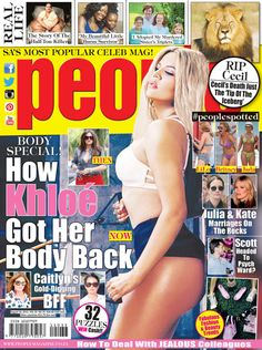 Get your digital subscription/issue of People Magazine South Africa-August 2015 Magazine on Magzter and enjoy reading the Magazine on iPad, iPhone, Android devices and the web. Celebrity News, Celebrity Gossip, People Magazine, Celebs, Celebrities, Khloe Kardashian, Beauty Trends, Real People, Burns