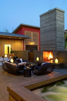 Beautiful outdoor space #home