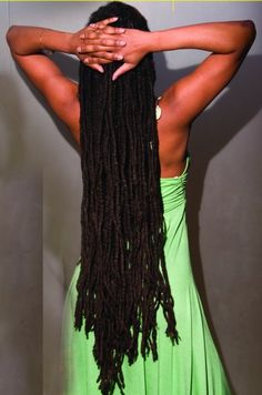 This  proves there's nothing dreadful about locs. Locking one's hair is an act of love of self and commitment. ~ Kai