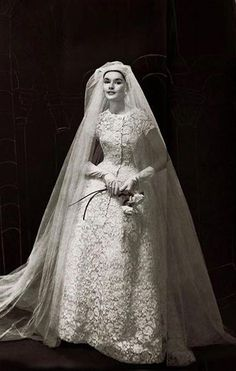 ideas vintage wedding dress christian dior dress wedding vintagewedding buy discount vintage tulle satin jewel neckline ball gown wedding dresses with royal train lace appliques at ailsabridal com Vintage Outfits, Vintage Dresses, Vintage Fashion, Vintage Dior, Christian Dior, Christian Clothing, Vintage Wedding Photos, Vintage Bridal, Bridal Gowns