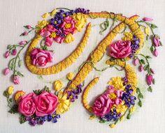 silk ribbon embroidery designs - Google Search