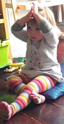 Simple Toddler Meditation from Sparkling Bay
