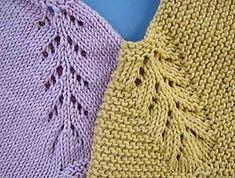 puntomoderno- vestido-Lucía Knitting Designs, Knitting Patterns Free, Free Knitting, Baby Knitting, Crochet Baby, Baby Sweaters, Kids Wear, Knit Dress, Clothes
