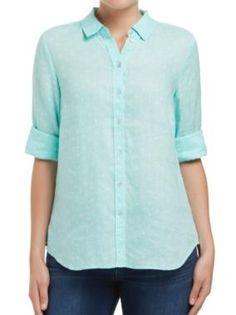 Sussan - New In - The Denim Story - Spot linen shirt