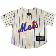ad789a641 Mets Baby  amp  Toddler Baseball Jersey  29.95 at  kiditude Toddler  Baseball Jersey