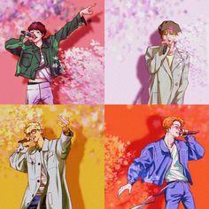 Winner Kpop, Yg Ent, Song Mino, Kpop Fanart, Winwin, Phone Case, Chibi, Graphic Art, Corner
