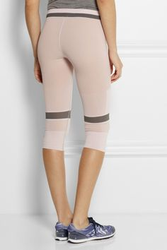 Adidas by Stella McCartney|Legging en jersey stretch Ess|NET-A-PORTER.COM