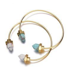 Bracelet geometrique or 2017