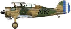 Greek AF Gloster Gladiator