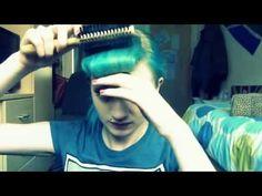 ▶ Faux Pin-up Bangs for Short Hair/Raquel Reed Hair Tutorial - YouTube