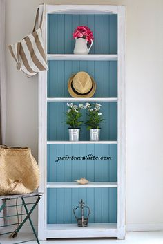 Beach house shelves-love this!
