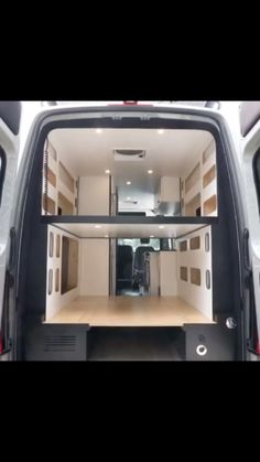 vanliferules on Instagram: This setup allows for two beds and maximum space allowance for daytime hangs. 📸 & text @atlas_vans . . #vanconversion #campervan #camper…