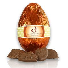 Small blossom easter egg chocolate brown shop new zealand milk chocolate luxury easter egg httpgiftloft easter hampersgift negle Image collections