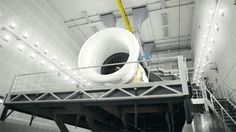 Beautiful GIFs from the floor of GE Aviation's jet engine facility in Wales. #Aviation