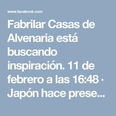 Fabrilar Casas de Alvenaria está buscando inspiración. 11 de febrero a las 16:48 ·  Japón hace presentación de nueva tecnología 7 D, increíble mira el vídeo! http://www.fabrilarcasas.com.br/projetos.php