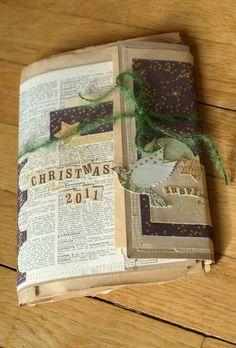 Mi chatarra Liliema ** de ** ~ ~ inspiración Mini álbum para Navidad ~