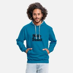 Bye March Welcome April Unisex Contrast Hoodie ✓ Unlimited options to combine colours, sizes & styles ✓ Discover Hoodies by international designers now! Sport T-shirts, T Shirt Sport, Sweat Shirt, Kim Jinhwan, Godly Man, Trends, Comedy Central, South Park, Catchphrase