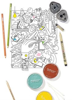 How To Color Like An Artist Tips For Adult Coloring Converts