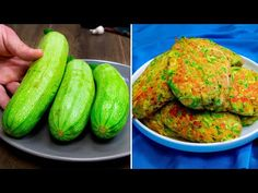 3 cukkini és 2 tojás a legfinomabb uzsonnához| Ízletes TV - YouTube Zucchini, 2 Eggs, Best Breakfast, Cucumber, Vegetables, Garlic, Youtube, Stuffed Zucchini, Breakfast
