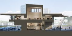 Gallery of LACMA Reveals New Renderings and Drawings of Zumthor-Led Expansion Project - 3