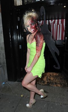 Hollyoaks stars pull out all the stops for halloween party in