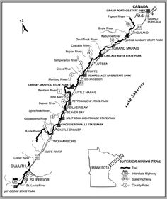 Superior Hiking Trail-- I want to section hike it, starting this summer!