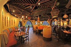 "Pronounced ""Sah-NAH,"" the restaurant boasts interiors inspired by ..."