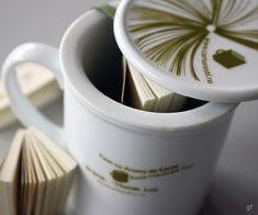 Book Flavored Tea, adică Ceai cu aromă de carte