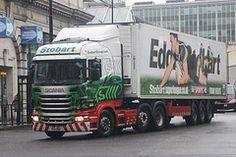 Eddie Stobart truck UK
