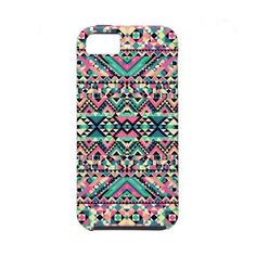 Pink Turquoise Girly Aztec Andes Tribal Pattern Iphone 5 Cases ($43) ❤ liked on Polyvore featuring accessories, tech accessories, phone cases, phone and samsung