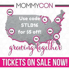I'm going to MommyCon DC! - Growing Up Expat #crunchy #mommyblog #parenthood #mommycon #clothdiapers #babywearing