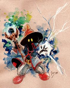 Black Mage - Final Fantasy