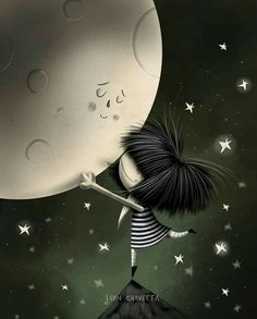 Good Day Wishes, Positive Self Talk, Moon Magic, Belle Photo, Life Is Good, Clip Art, Animation, In This Moment, Wallpaper