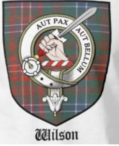 GUNN CLAN CREST vinyl sticker Truck Car Window Scottish Tartan Colors Scotland