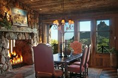 Adore this fireplace